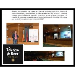 Gènesis Tourism&Beer creado a través del programa INVATTUR emprende